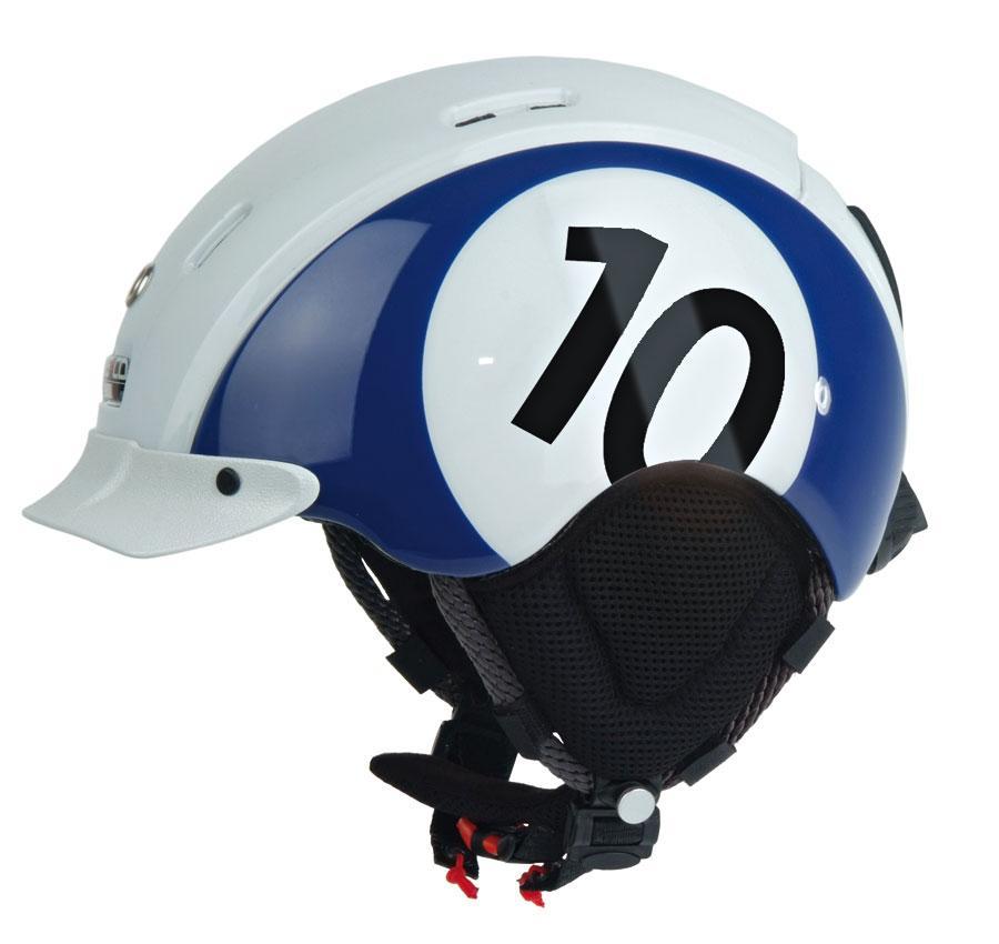 Горнолыжный шлем Casco mini pro 10 blue-white (MD)