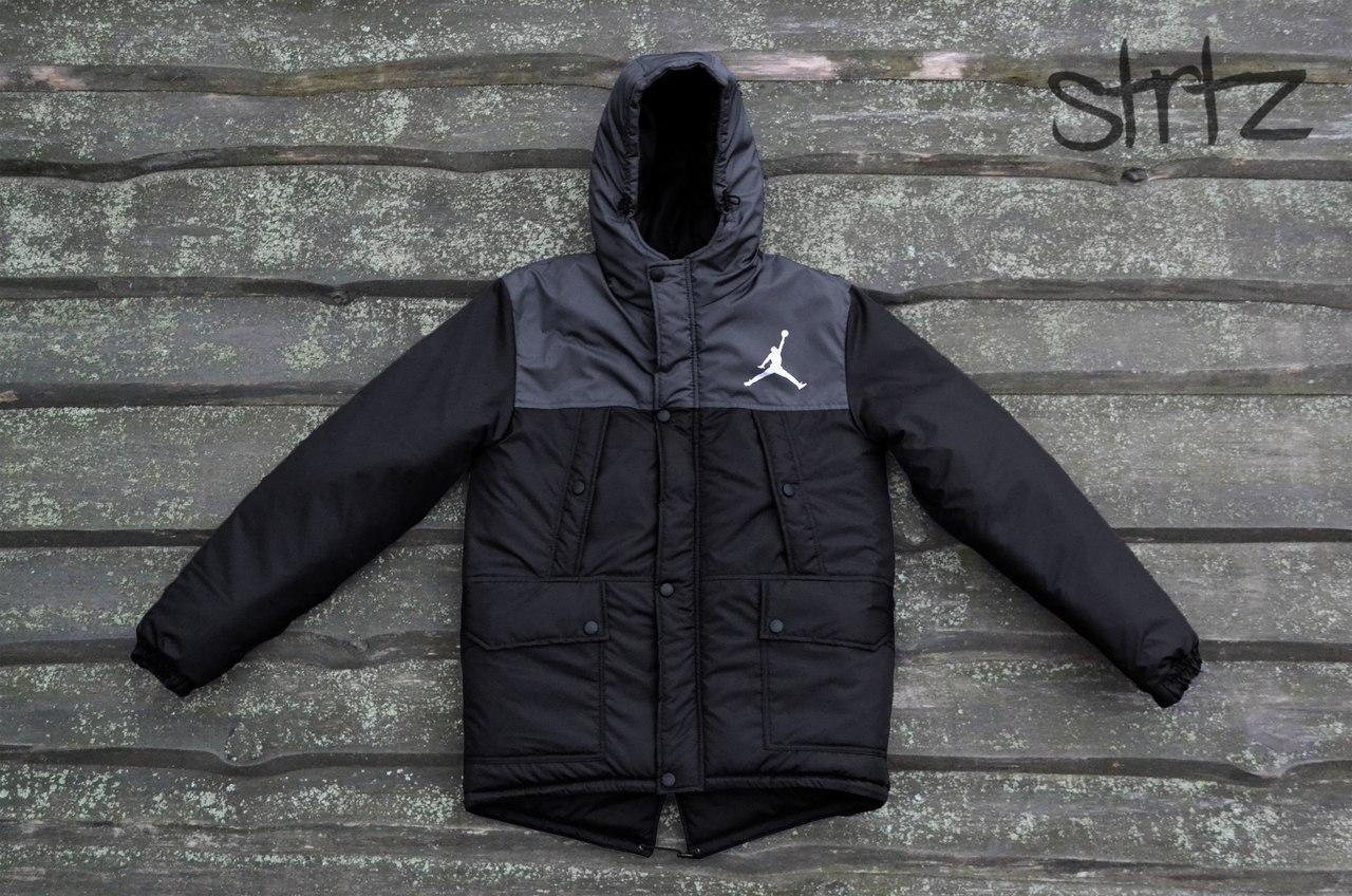 Зимняя теплая мужская куртка/парка/пуховик джордан (Jordan)