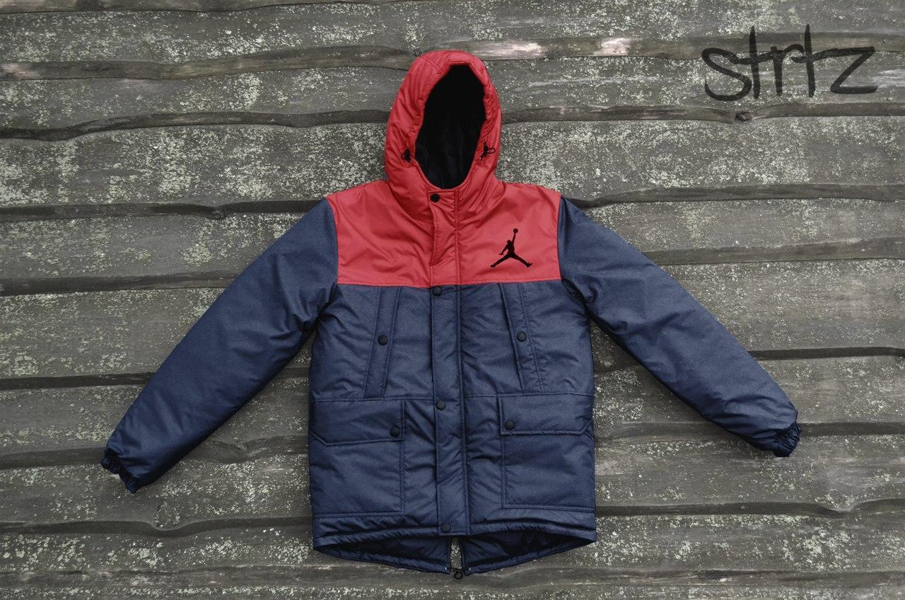 Зимняя практичная мужская куртка/парка/пуховик джордан (Jordan)