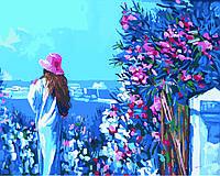 Картина по номерам - Прогулка по набережной