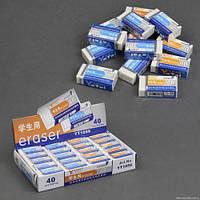 Стирательная резинка 1056 / 555-599 (30) /ЦЕНА ЗА БЛОК/ 40шт в блоке 1056/555-599