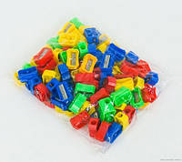 Точилка для карандашей 0612 (5000) 4 цвета /ЦЕНА ЗА 1ШТ/ 100шт в кульке