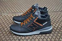 Мужские  зимние кожаные ботинки NB Cruz, фото 1