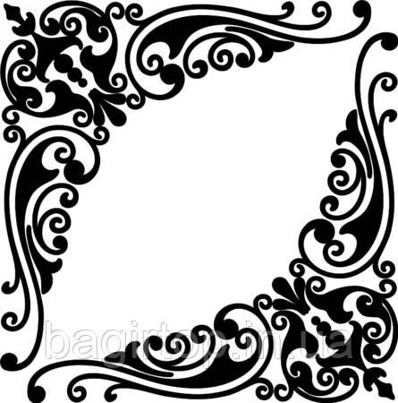 Вінілова наклейка - Візерунок 4