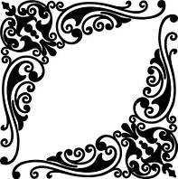 Виниловая наклейка - Узор 4
