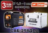 Сварочный инвертор Дніпро-М САБ-258ДПА