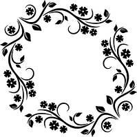 Виниловая наклейка - Узор 2