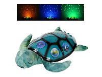 "Детский Ночник-проектор звездного неба ""Черепаха"", Limo toy, YJ3"