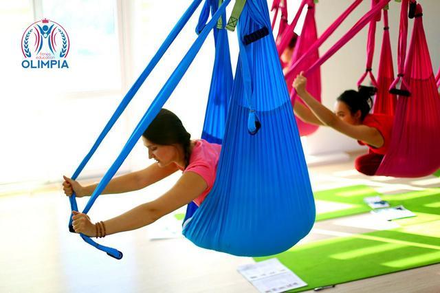 Программа курсов инструкторов йоги в гамаках от школы Олимпия