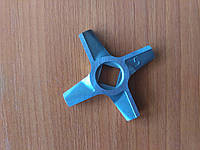 Нож для мясорубки Zelmer №5 двухсторонний, п/квадрат  9 мм, D-47