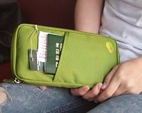 Органайзер для документов, холдер зеленый