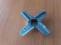 Нож для мясорубки Bosch №5 ALP (028887) п/квадрат  9 мм, D-45 (см Zelmer №5 одностор.)
