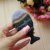 Кисть рыбка для макияжа Fish Brushes (черная)