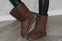 Угги Ugg уги темно коричневые зимние женские классические (Код: 229). Только 40р!