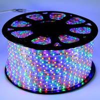 Светодиодная лента BIOM SMD 5050 220v, 60 LEDs/m, 6W IP67 RGB