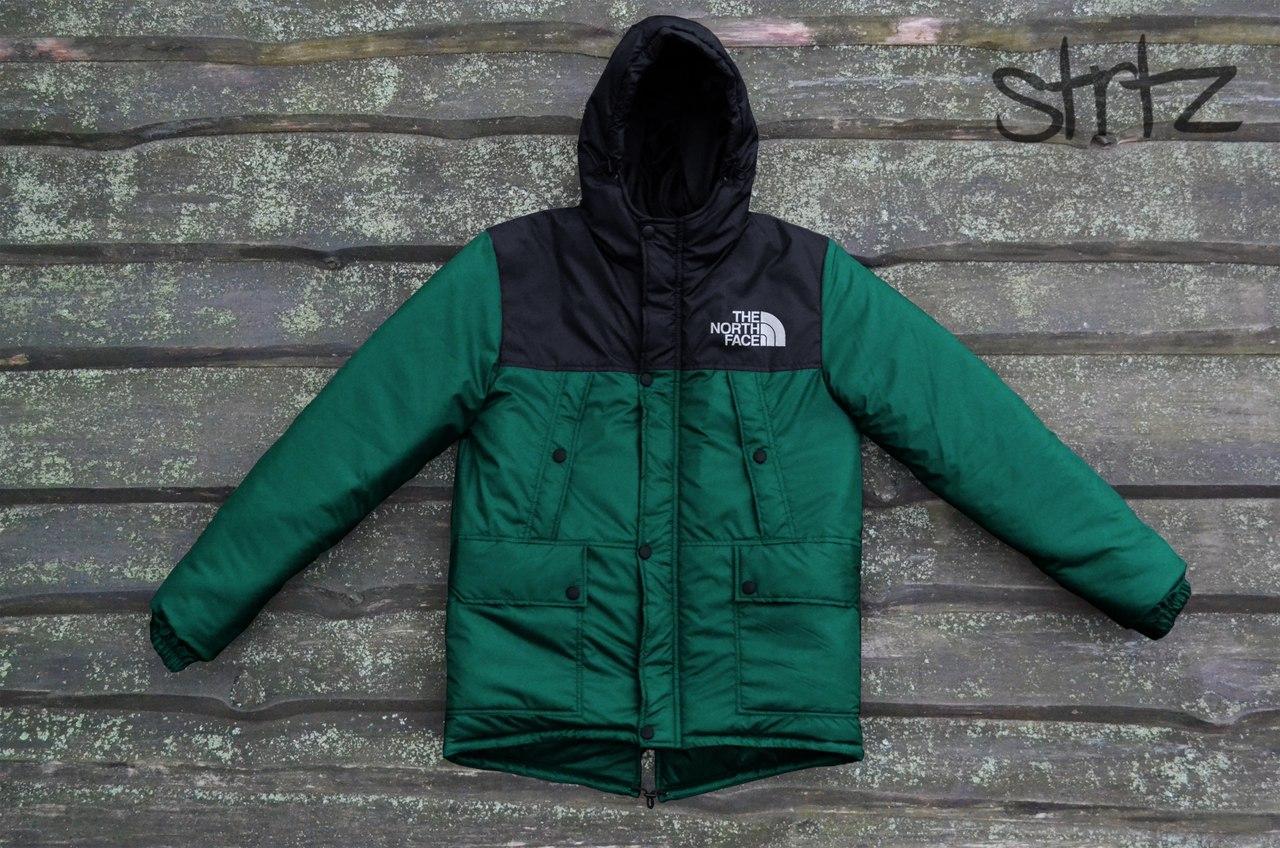 Теплый зимний мужской пуховик/парка/куртка TNF/The North Face