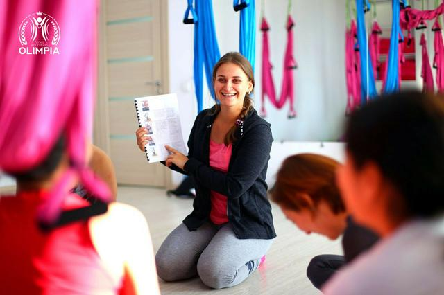 Порядок и условия прохождения курса инструкторов флай йоги от школы Олимпия