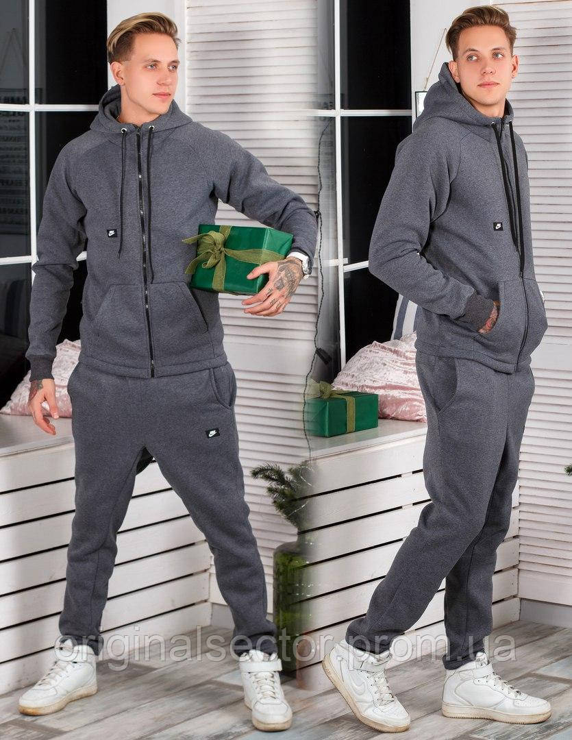 Мужской теплый спортивный костюм Nike - интернет-магазин