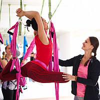 Подготовка инструкторов йоги в гамаках (Аэройога) очно и онлайн