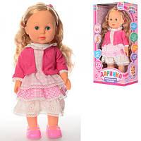 Кукла M 1445 U Даринка,42см,ходит,муз-звук(укр),10фраз