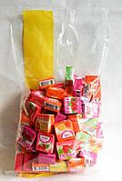 Frubi жевательные конфеты фруктовое ассорти в кубиках 1 кг пакет