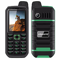 VKWorld Stone V3 Plus 4000 мАч Мобильный Телефон 2.4 дюйма Водонепроницаемый Dual SIM GSM Fm-радио Фонарик