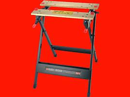 Стіл для столярних робіт Black&Decker WM301