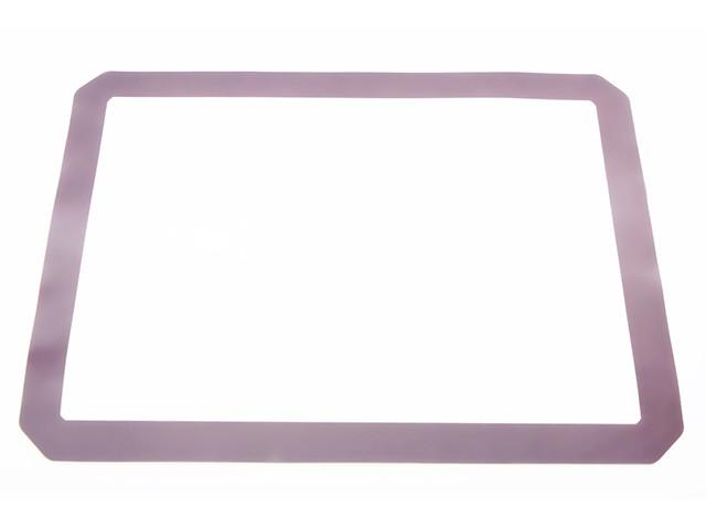 Коврик 40х30х0.1см силиконовый кондитерский для выпечки Fissman