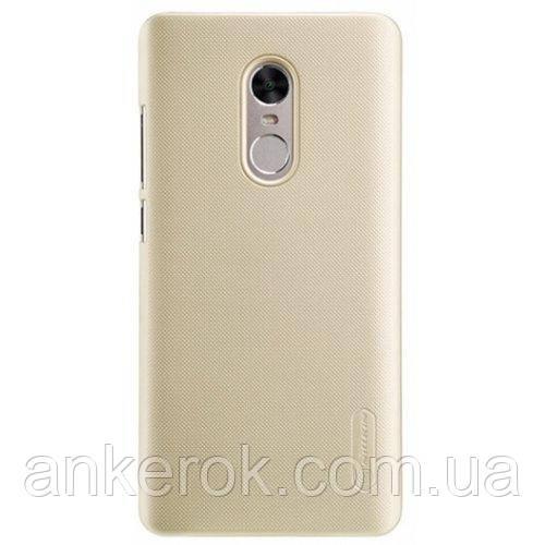 Чохол-бампер NILLKIN для Xiaomi Redmi Note 4x (Gold)