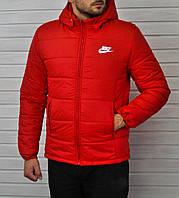 Куртка мужская Nike красная топ реплика