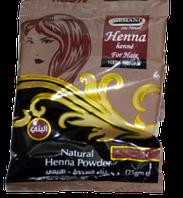 Натуральный порошок хны для волос (Бургунди) 25 g, фото 1