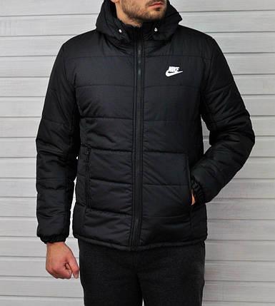 Куртка мужская Nike черная топ реплика, фото 2
