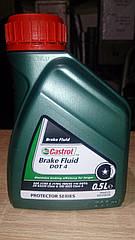 Castrol тормозная жидкость DOT 4 0.5 л