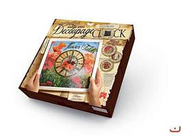 "Комплект креативного творчества ""Decoupage Clock"", с рамкой DKС-01-04"
