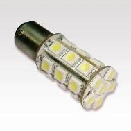 Автосветодиод S25-BA15S-24SMD(5050)-24V