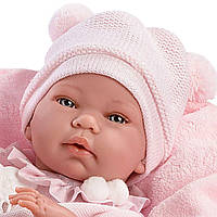 Новорожденная кукладевочка Ника Nica, 38см. Коллекция Llorens 2017   73842