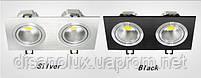 Светильник Downlight LED BR-002  20вт 230в  черный  3000К, фото 4