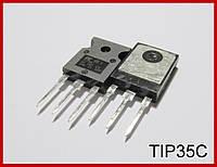 TIP35C,биполярный транзистор , n-p-n.