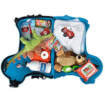 Детский чемодан на колесиках Big 55352 синий, фото 2