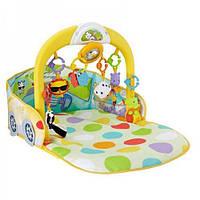 Детский развивающий коврик (центр) «Весёлый автомобиль» 3 в 1 Fisher-Price DFP07
