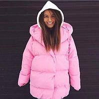 Женская зимняя теплая куртка хит продаж 7 цветов