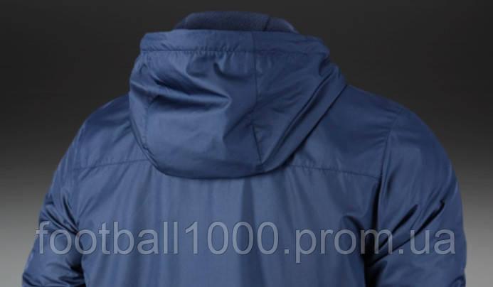 08069efa Детская утепленная куртка с капюшоном Nike JR Team Fall Jacket 645905-451,  цена 1 980 грн., купить в Киеве — Prom.ua (ID#614401581)
