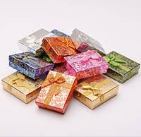Подарочная коробочка для бижутерии прямоугольная (разные цвета)