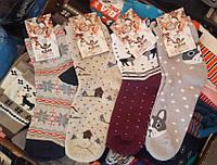 Женские носки с новогодней тематикой
