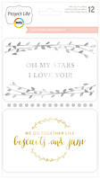 Карточки - Project Life - Southern Weddings - 12pkg