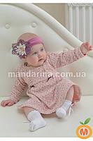 Платье велюровое для девочки 2 года (92 размер)