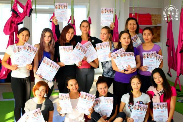 """Школа """"Олимпия"""" провела корпоративное обучение для сотрудников сети клубов в Кыргистане"""