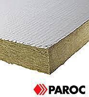 Вата для каминов минеральная Paroc с фольгой 30*600*1000 (6 м.кв.)