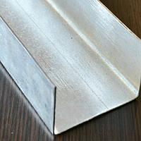 Профиль U стальной оцинкованный гнутый