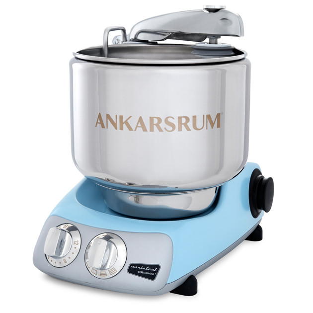 Тестомес  AKM6230PB  1500 Вт  Ankarsrum Assistant Original, голубой перламут